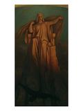 The Virgin, 1863 Giclée-Druck von Moritz Von Schwind