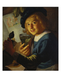 Young Drinker Posters by Gerrit van Honthorst