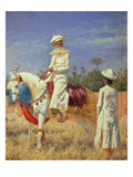 A Horseman in Jaipur, 1881 Giclee Print by Wassili Werestschagin
