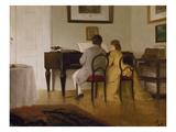 Die Musizierenden, 1856 Giclee Print by Wilhelm von Lindenschmidt