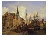 The Stock Exchange, Copenhagen Giclee Print by Johannes Rutten