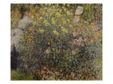 Women in the Flowers, 1875 Giclee Print by Claude Monet