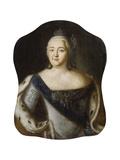 Bildnis Der Zarin Elisabeth Petrowna, Um 1750 Giclee Print by Alexej Petrowitsch Antropoff