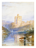 Norham Castle: an Illustration to Sir Walter Scott's Marmion, 1818 Poster di Joseph Mallord William Turner