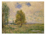 Fields Near Veneux-Nadon, 1881 Prints by Alfred Sisley