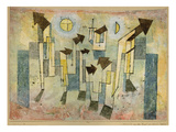 Wall Painting from the Temple of Longing Thither, 1922 Print by Paul Klee