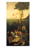 Hieronymus Bosch - The Ship of Fools - Giclee Baskı
