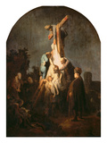 The Deposition from the Cross, 1633 Prints by  Rembrandt van Rijn