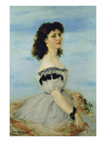 Portrait of Berta Gerson, 1863 Giclee Print by Victor M&#252;ller