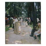 Papageienallee, 1902 Reproduction procédé giclée par Max Liebermann