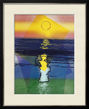 Sunset, c.1972 Framed Giclee Print by Andy Warhol