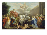 The Entering of Johann Wilhelm, Elector Palatine Giclee Print by Giovanni Antonio Pellegrini