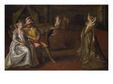 Venetian Courtesans Giclee Print by Lodewyk Toeput