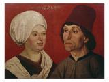 Bildnis Eines Ehepaares Giclee Print by Hans Schüchlin