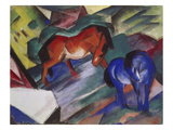 Red and Blue Horse, 1912 Giclee Print by Franz Marc