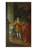 Portrait of the Emperor Joseph Ii of Austria Giclee Print by Martin II Mytens/ Meytens