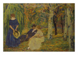 Conversation in the Wood, 1916 Giclee Print by Karel Spillar