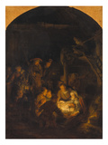Adoration of the Shepherds, 1646 Poster by  Rembrandt van Rijn
