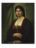 Portrait of a Roman Woman (Nanna), 1862 Giclee Print by Anselm Feuerbach