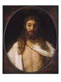 The Resurrected Christ, 1661 Art by  Rembrandt van Rijn