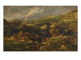 Landschaft Nach dem Gewitter, um 1840 Giclee Print by Théodore Rousseau