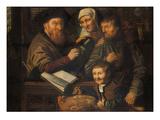 Beim Steuereinnehmer Giclee Print by Jan Wouters