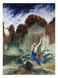 Orpheus at the Tomb of Eurydice, 1890 Giclee Print by Gustave Moreau
