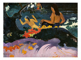 Fatata Te Miti (By the Sea), 1892 Giclee Print by Paul Gauguin