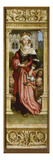 Sebastian Altarpiece. Interior of Right Wing: St. Elizabeth with Three Beggars, 1516 Prints by Hans Holbein the Younger