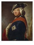 Frederick Ii the Great, about 1745 Giclee Print by Antoine Pesne