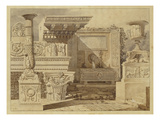 Antique Fragments Ii. Title Page Design, 1823 Giclee Print by Leo Von Klenze
