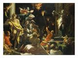 Judith Zeigt Dem Volk Das Haupt Des Holofernes, 1593 Lámina giclée por Abraham Bloemaert