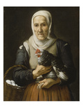 The Old Hawker Giclee Print by Bartolomé Estéban Murillo