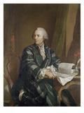 Bildnis Des Mathematikers Und Philosophen Leonhard Euler (1707-1783) Giclee Print by E. Bachmann