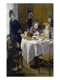 Luncheon (Le Déjeuner), 1868 Poster by Claude Monet