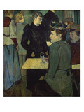A Corner in the Moulin De La Galette Giclee Print by Henri de Toulouse-Lautrec