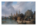 Der Koelner Dom, 1826/35 Giclee Print by William Clarkson Stanfield