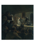 Das Drama. Gegen 1860 Giclee Print by Honor&#233; Daumier