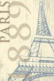 Paris 1889 Print