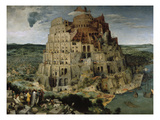 Tower of Babel, 1563 Giclee Print by Pieter Bruegel the Elder