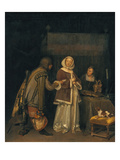 The Refused Letter, about 1655 Giclee Print by Gerard ter Borch