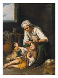 The Toilette, about 1670/75 Giclee Print by Bartolomé Estéban Murillo