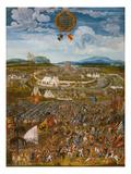 Alesia Besieged by Julius Caesar (52 BC Julius Caesar Versus Vercingetorix) Giclee Print by Melchior Feselen
