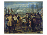 The Capitulation of Breda, 1634/1635 Giclee Print by Diego Velázquez