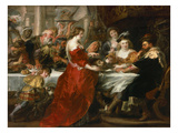 Herod's Feast Giclee Print by Peter Paul Rubens