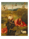 St. John the Baptist in the Desert Giclee Print by Hieronymus Bosch