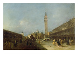 Piazza San Marco (Saint Mark's Square) Posters by Francesco Guardi