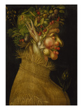 Summer, 1563 Prints by Giuseppe Arcimboldo