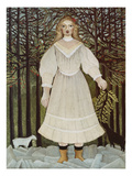 The Young Girl, 1893/95 Giclee Print by Henri Rousseau