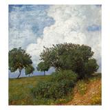 Landschaft Mit Wolke, 1893 Art by Hans Thoma